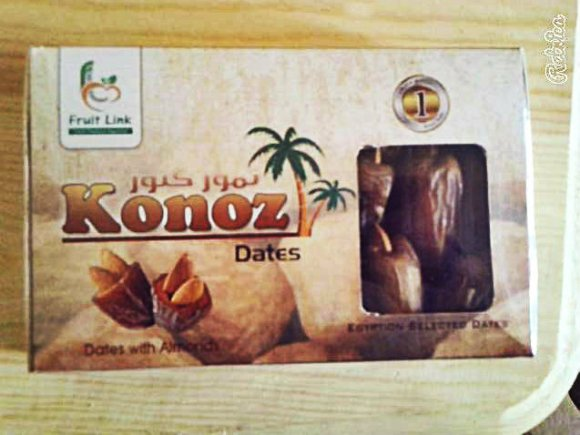 dates with almond | fruit link