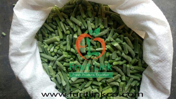 Frozen green beans by Fruit Link