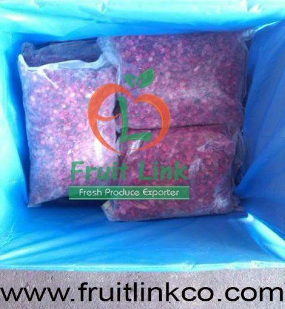 Frozen pomegranates by Fruit Link
