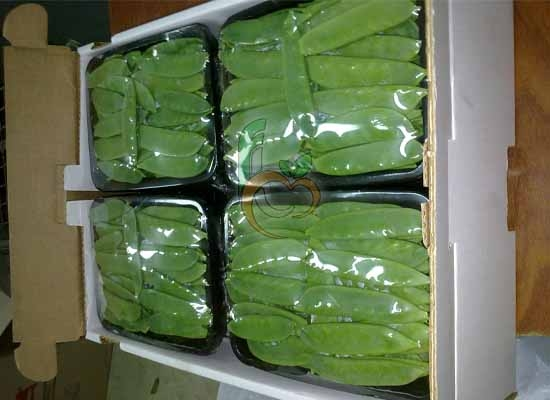Snow Peas carton Package