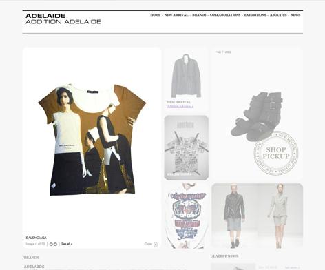 Adelaide / Addition Adelaide website 2