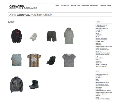 Adelaide / Addition Adelaide website 5