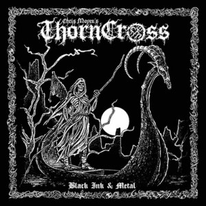 Chris Moyen Thorn Cross Book + Incantation/Archgoat LP