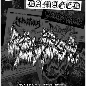 Ultra Damaged zine anthology 1985 2017