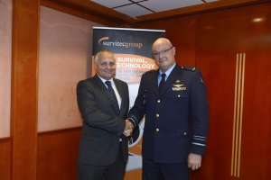 Survitec and Netherlands to create EU Centre for F-35 pilots