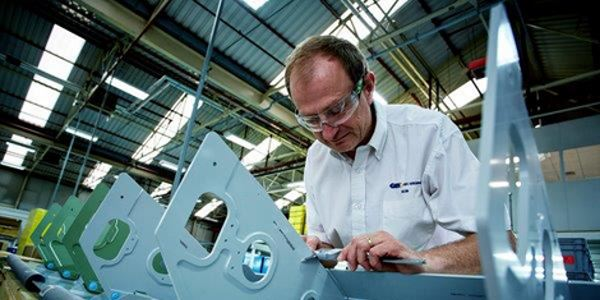 GKN Aerospace innovative wing leading edge assemblies, delivered to Airbus for the Clean Sky BLADE programme