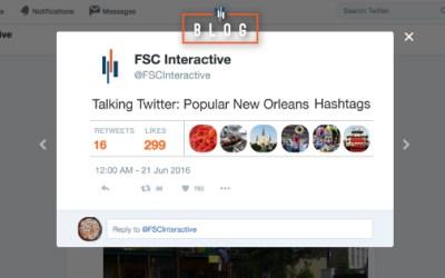 Talking Twitter: Popular New Orleans Hashtags