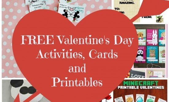 FREE Valentine\u0027s Day Activities, Cards and Printables #Valentines ~