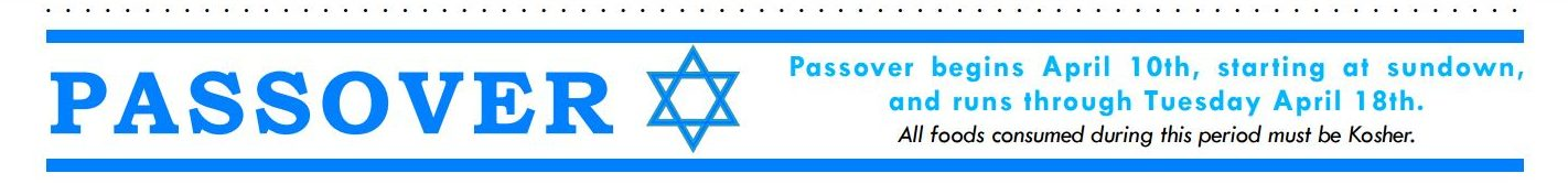 passover easter