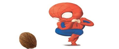 spider-man coconut