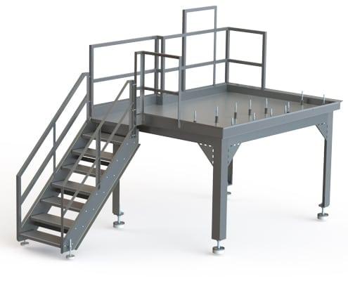 A-08534 Breaker Prep Platform
