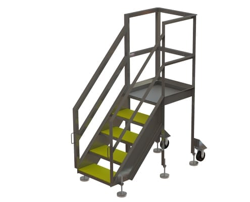 VEMAG movable platform