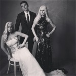 17 Lady Gaga Nolan Funk and Donatella Versace