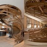 Spiral Staircase of Strasbourg Hotel  1
