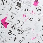 Typodarium Calendar