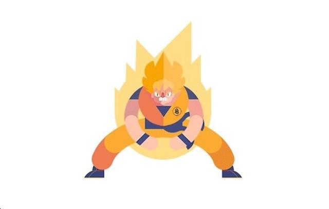Dragon Ball Z Animated GIF \u2013 Fubiz Media