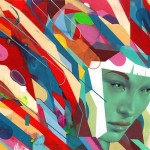 Graphic and Colorful Portraits by Erik Jones -11