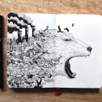 Hyperdetailed Drawings by Kerby Rosanes_1