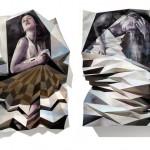 Impressive Folded Paintings