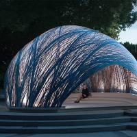 Subaquatic Water Spider Nests Pavilion