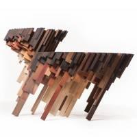 Fragmented Wooden Furniture