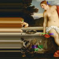 Glitch Art in Renaissance Paintings