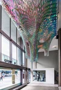 Sparkling Ceiling Installation  Fubiz Media