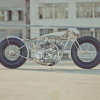 Stunning Aluminium Motorbike Masterpiece