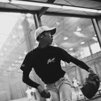 Intimate Black and White Pictures of a Baseball Team in Tokyo