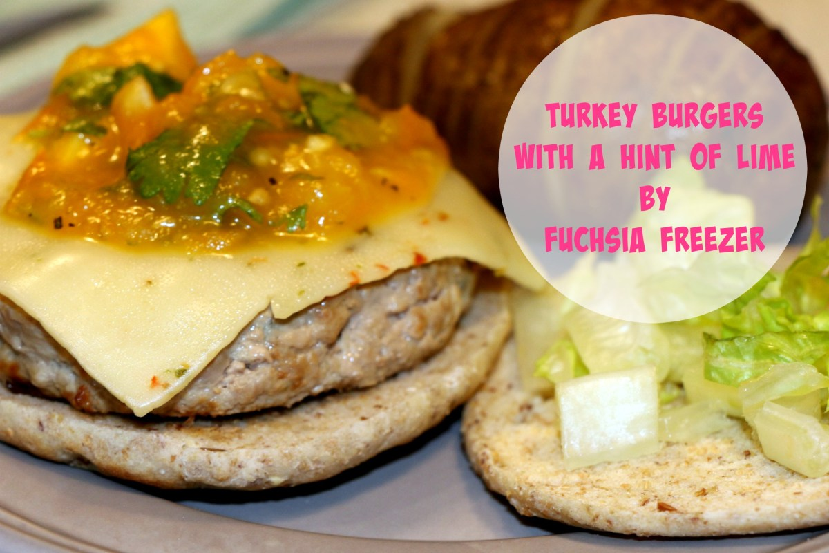 Turkey Burgers with a Hint of Lime