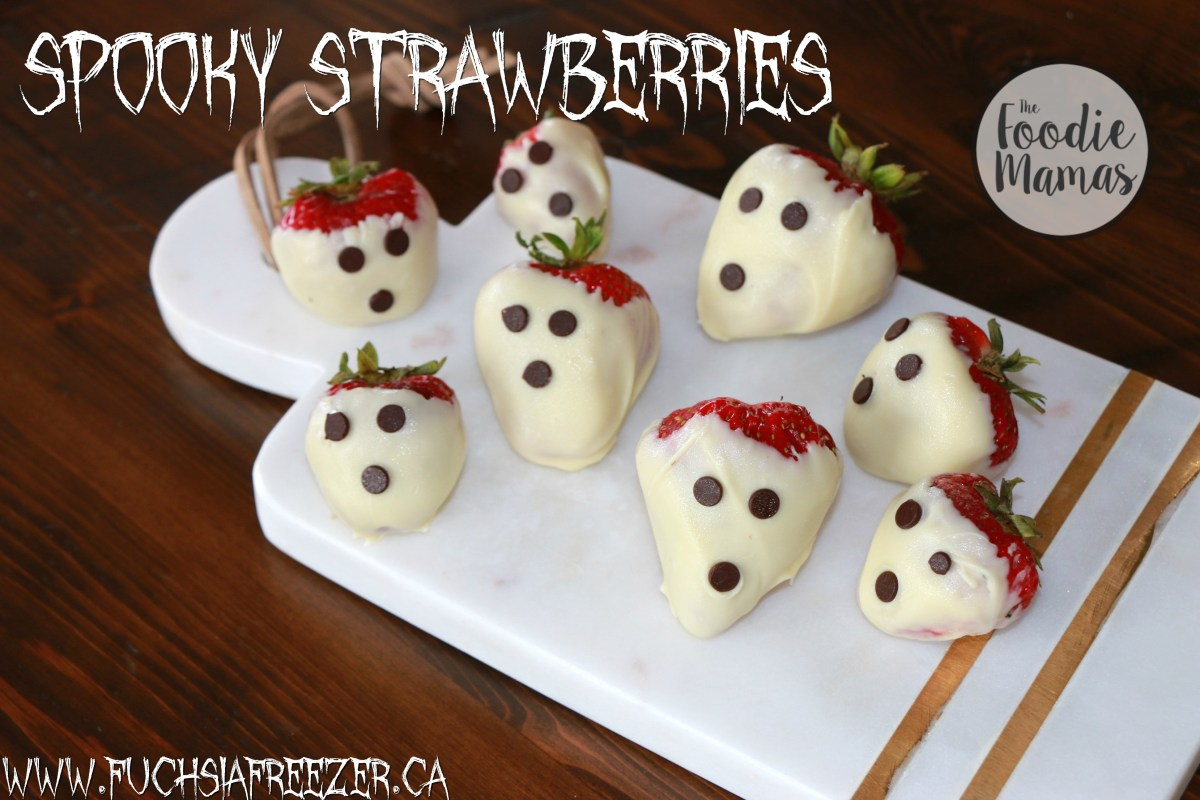How To Make Spooky Strawberries