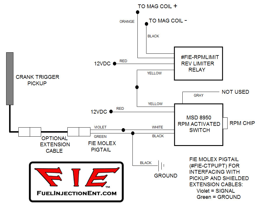 Mallory Rev Limiter Wiring Diagram Wiring Schematic Diagram