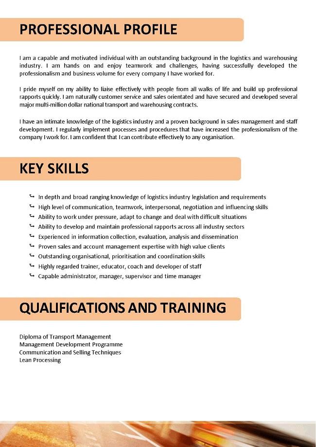 5 resume basics