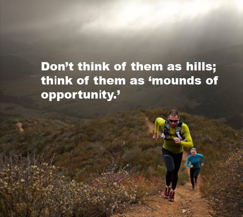Comfort Zone Motivational Quotes Wallpaper Runner Things 1388 Don T Think Of Them As Hills Think