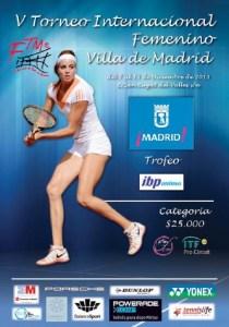 La Federación de Tenis de Madrid acoge el V Torneo Femenino Villa de Madrid