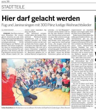 Kölnische Rundschau 17.12.2013