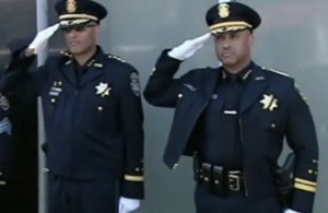 OPD Chief Batts Salutes
