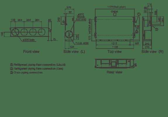 mitsubishi electric vrf wiring diagram