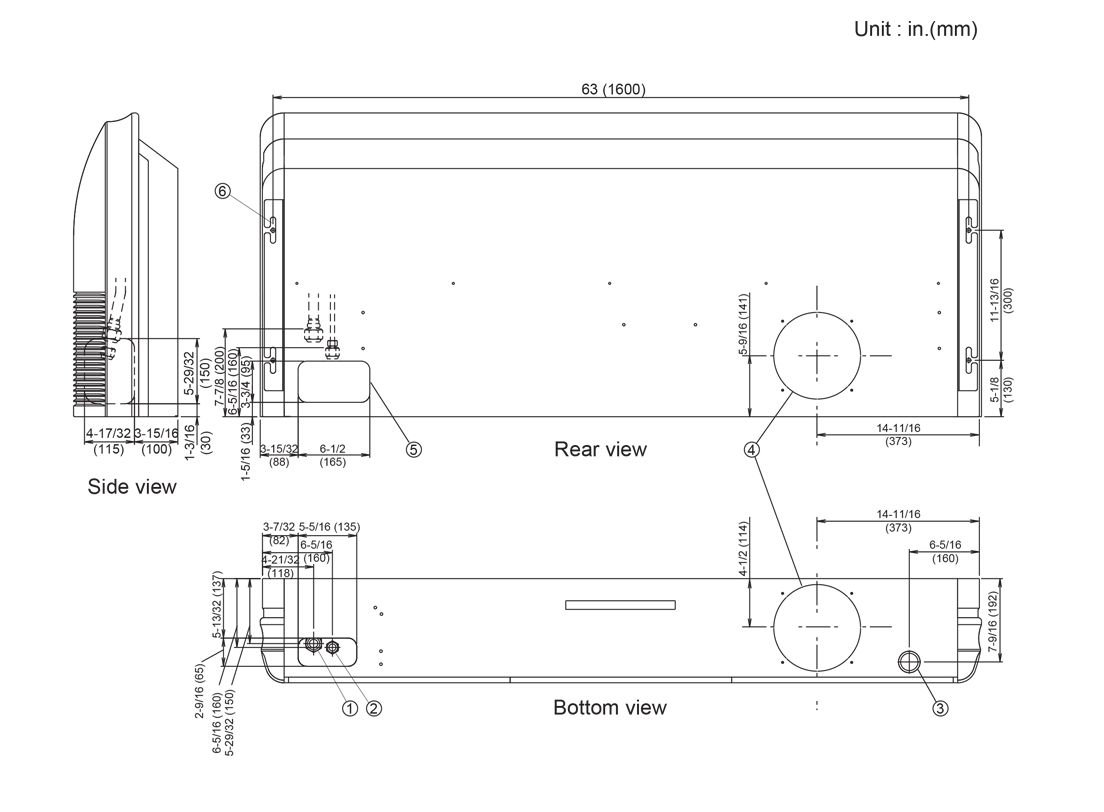 fujitsu halcyon parts diagram