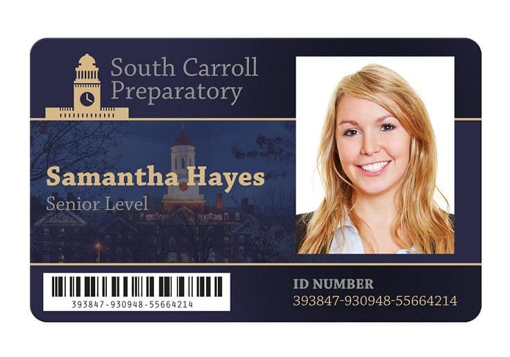 Student ID Cards  School Staff ID Badges Full Identity