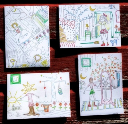 "My ""Everyday Goddess"" notecards"