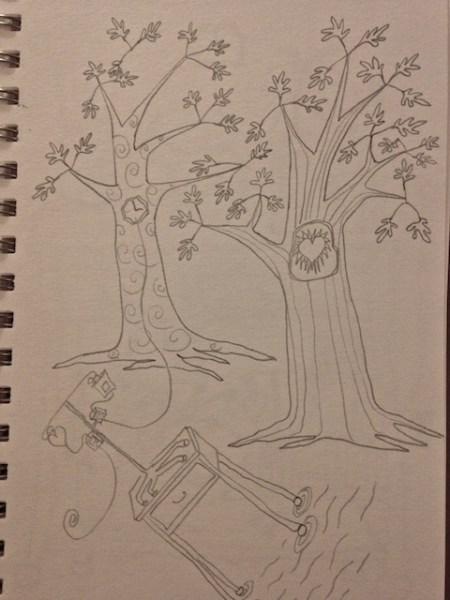 Waiting room drawing 1