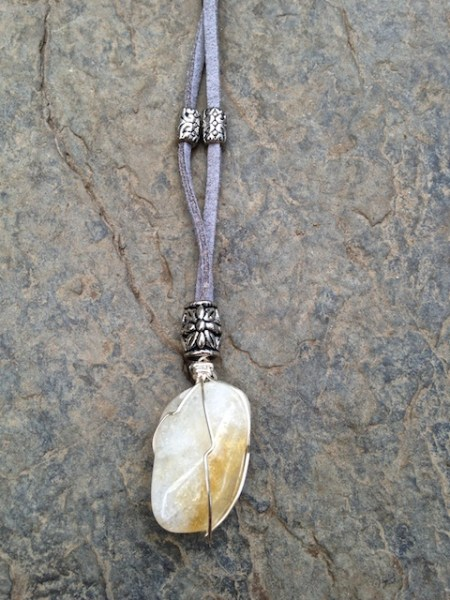 Wrapped Stone 5