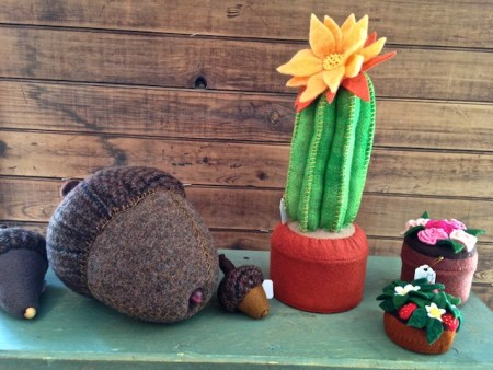 Pincushions by Jane McMillen
