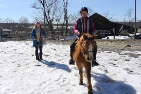 Eli, me and Chloe