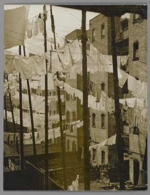 "Photo by Consuela Kanaga ""New York Tenements in the 1930's"""