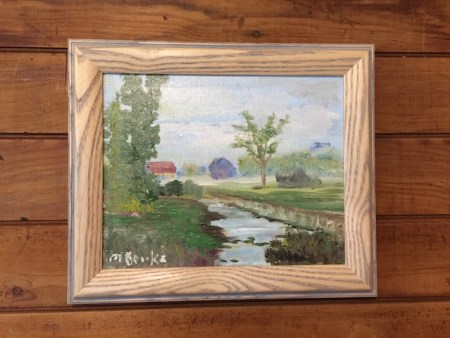 """Country Scene By Marilyn Brooks 8""""x10"""""""