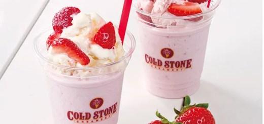 コールドストーンから、春先に楽しめる、『クーリーズ リッチミルク』が今日3/6発売! (Cold Stone)