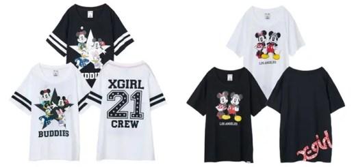 テーマは「カップル」!4/3からエックスガール (X-girl) × ディズニー コレクション (Disney COLLECTION)が発売!
