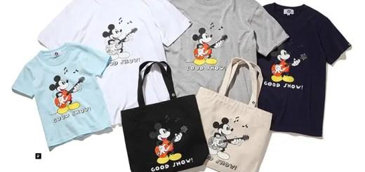 グッドイナフ × ミッキーマウス、25周年記念TEE等が6/27から発売! (GOODENOUGH MICKEY MOUSE Disney ディズニー)